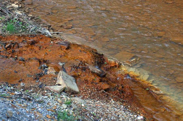 U.S. Waterways Polluted by Coal Mining