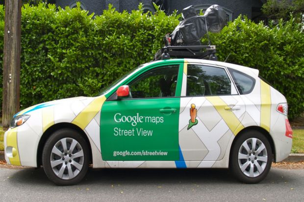 Google Street View Cars Offer a Better View on Methane Pollution