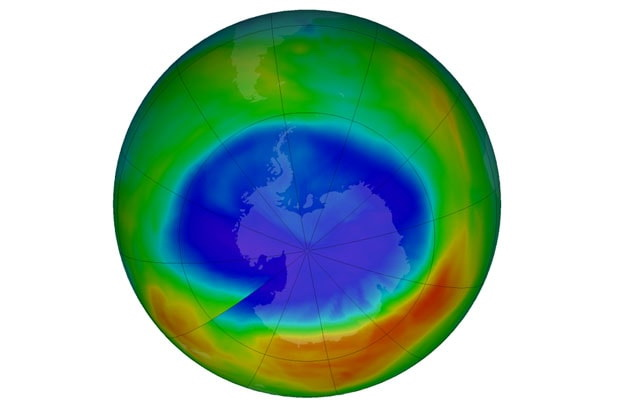 Ozone Layer Hole Decreased due to Chemical Ban NASA Reports