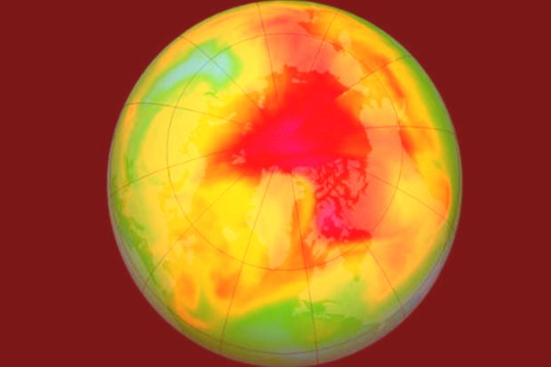 Ignored by the Montreal protocol, an unlisted source threatens the ozone layer