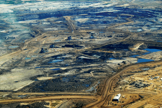Regional Pollution Caused by Diesel Vehicles in Oil Sands Operations